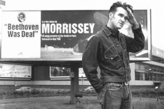 Morrissey en 1993 (photo Renaud Monfourny)