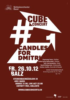Sinfonieorchester Basel, Cube Concerts #1