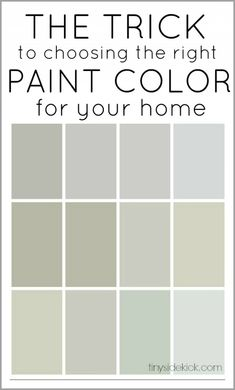Repose Gray Paint Color Sherwin Williams. Brown/warm undertones. The trick to choosing the right paint color for your home.