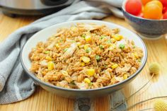 Leftover Fried Rice - Fish come from the sky Leftover Fried Rice Recipe, Cooking Fried Rice, Rice In The Microwave, Sunday Roast, Mixed Vegetables, Frozen Peas, Food Waste, How To Cook Chicken, Rice Recipes