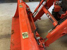 Kubota™ Quick-Attach Buckets - BoltOnHooks LLC Kubota Compact Tractor, Compact Tractors, Compact Tractor Attachments, Tractor Accessories, Kubota Tractors, Tractor Implements, Great Pictures, Buckets, Hooks