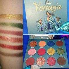 OPV Yemoja Eyeshadow Palette Review & Swatches