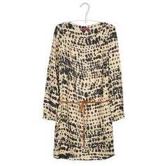 Robe imprimée Outremer ONE STEP FEMME - Boutique en ligne ONE STEP - Nouvelle collection Automne Hiver 2013/2014 - Place des Tendances.