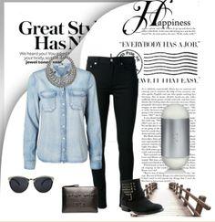 Los detalles en denim pueden ser el plus que tu look necesita! 1.- Perfume 212 Carolina Herrera http://fashion.linio.com.mx/a/212