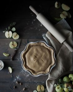 Sour Cream Custard  Cardamom Apple Pie. What autumn dreams are made of.  Recipe on the blog! . http://ift.tt/2dgV7Bl .  #apple #pie #piecrust #applepie #custardapple #bakersofinstagram #wsbakeclub #foodphotographer #f52grams #foodphotography #foodstyling #vscofood #vscofashionfood #refinedsugarfree #sugarfree #wholefoodplantbased #onmytable #thatsdarling #feedfeed @thefeedfeed #yahoofood #buzzfeast #huffposttaste #foodwinewomen #wholegrain #fall #cardamom #marthabakes #fromscratch