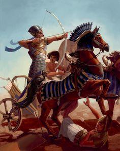 Paintings of Ramses II | Ramses II by thegryph