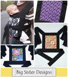 baby carrier...looks way easy to make