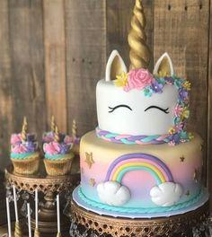 Birthday parties 294563631876434053 - Rainbow Unicorn Cake, Unicorn Cupcakes, Unicorn Cake Pops & Unicorn Cookies Source by gabouvigou Unicorn Cake Pops, Unicorn Cookies, Diy Unicorn Cake, Unicorn Cake Images, Black Unicorn Cake, Unicorn Cake Design, Unicorn Crafts, Unicorn Shirt, Unicorn Themed Birthday Party