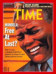 1990 – Nelson Mandela  Publish Date: Feb. 5, 1990  Cover Story: At the Crossroads