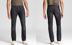 John Varvatos Star USA Bowery Jeans in Jefferson Extra Dark Wash