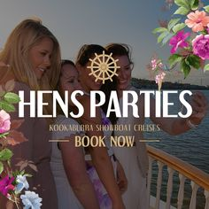 Unique Hens night parties on the Brisbane River. Offering elegant high tea cruises, fun filled lunch and dinner cruises and private charter hire! Brisbane River, Hens Night, Upcoming Events, Lunches And Dinners, Cruise, Entertaining, Engagement, Bridal, Party
