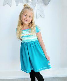 Look at this #zulilyfind! Gum Drops Short Cap-Sleeve Dress - Infant, Toddler & Girls #zulilyfinds
