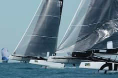 I'm a sucker for the excitement the GC32 foiling catamarans, but here are 15 more photos showing Mini Maxis, Melges 24's, a fleet of 54 J/70's and the youngest skipper to ever compete in Key West Race Week (hint:  he ended up 5th in 54 boats!).   commuterCRUISER.com