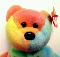 """Ty Beanie Baby """"peace"""" bear swing tag tush tag in great Condition in Toys & Hobbies, Beanbag Plush, Ty Peace Beanie Baby, Original Beanie Babies, Swing Tags, Ty Beanie, Cool Items, Hobbies, Plush, Teddy Bear, Toys"""