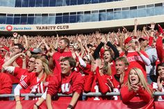 Badger fans are excited for kickoff.