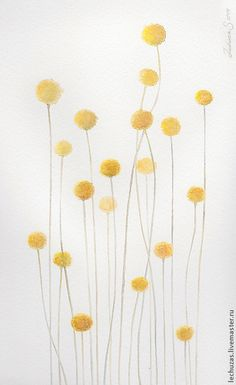 Пока травы спят, акварель, размер 20см*30см, бумага Canson 100% хлопок 300 г/м2, Светлана Маркина, LechuzaS