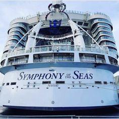 Symphony Of The Seas, Harmony Of The Seas, Royal Caribbean International, Royal Caribbean Cruise, Cruise Ships, Nassau, Construction, Cruises, Container