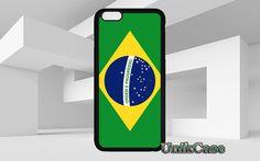 Drapeau Brésil pour iPhone 4 4 s 5 5 s SE 6 6 s par UnikCase1