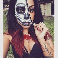 32 Skeleton Makeups