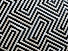 Kyle Bunting hide rug - Hyatt Regency Dallas Premium Suite by EDG