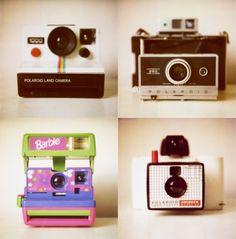 Love me some vintage camera's!
