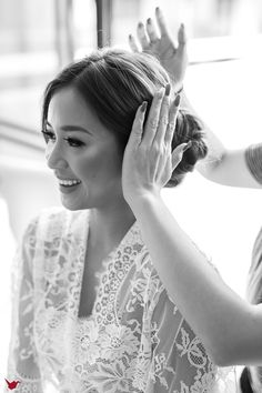 Wedding hair idea | Project by Paper Cranes Productions http://www.bridestory.com/paper-cranes-productions/projects/dennis-hue-s-wedding-cinematic-portraiture-i-promise-to-share-my-chips-with-you