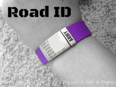 Review: Road ID wrist identification band