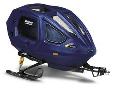 Snowcoach - roomy, comfortable, safe, with room for up to 2 passengers - http://www.equinoxsleds.com/snowcoach.html
