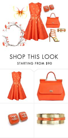 """""""Untitled #1399"""" by bsimon623 ❤ liked on Polyvore featuring Dolce&Gabbana, Chanel and See by Chloé"""