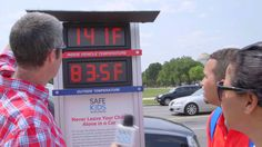 Did you know that even on a mild 70-degree day, the temperature inside of a car can rise 19 degrees in just 10 minutes? And it continues to rise from there, creating a dangerous environment for children who are unattended in the car. Gary hit the streets of Washington, D.C., to get people talking about this important issue, which has been making headlines recently: Heatstroke.