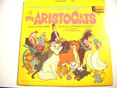 1970 The Story of The Aristocats from the Walt Disney by parkledge, $20.00