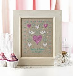 Romantic, traditional and nostalgic wedding gift, if you have the time to make it.