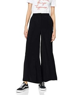 Wide Leg Trousers, Cool Girl, Legs, Amazon, Pink, Stuff To Buy, Clothes, Black, Women