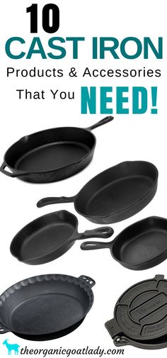 Cast Iron Products and Accessories. Cast Iron In The Kitchen, Cast Iron On The Homestead, Homestead Kitchen Cast Iron Products and Access Cast Iron Care, Cast Iron Pot, Cast Iron Skillet, Cast Iron Cookware, It Cast, Iron Skillet Recipes, Skillet Cooking, Cast Iron Recipes, Cast Iron Cooking