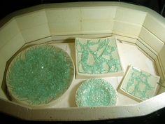 Shards in kiln