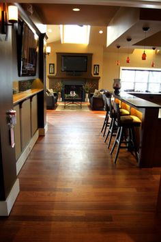 Brazillian Cherry Hardwood - - wood flooring - other metro - by Dalene Flooring Carpet One