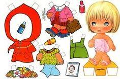 boneca de papel - Pesquisa Google