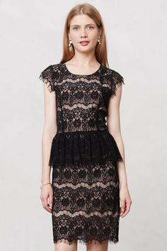 Elsa Peplum Dress - Anthropologie.com