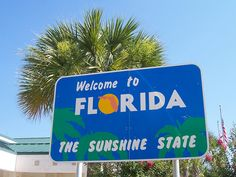Florida, State Sign