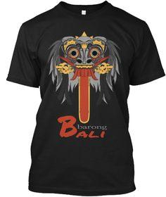 B Barong Ali Black T-Shirt Front