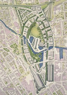ar Essay The Big Rethink Urban Design by Peter Buchanan Architecture Drawings, Architecture Plan, Landscape Architecture, Architecture Diagrams, Architecture Portfolio, Landscape Plans, Urban Landscape, Landscape Design, Parque Linear