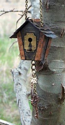"All Things Crafty: ""Ladybird"" House    http://mieljolie.blogspot.com /2011/03/ladybird-house.html"