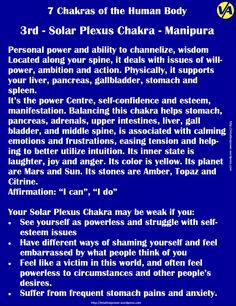 °3rd ~ Solar Plexus Chakra