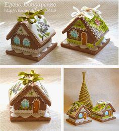 GINGERBREAD HOUSE~Пряничное волшебство Елены Бондаренко