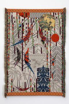 Kustia Saski Weaving  http://boskybelle.com/2014/03/dream-weaver/