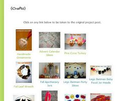 I recently have been making some small changes to my blog to make it easier to use. Blogger can be a little tricky, but if you know some basic (and sometimes not so basic) html you can create some amazing things! If you click on the page link at the top of this blog titled 'Crafts'you will pull up an image gallery of all my past craft projects. (Update: This is now under the 'tutorials' . . .   Continue reading →