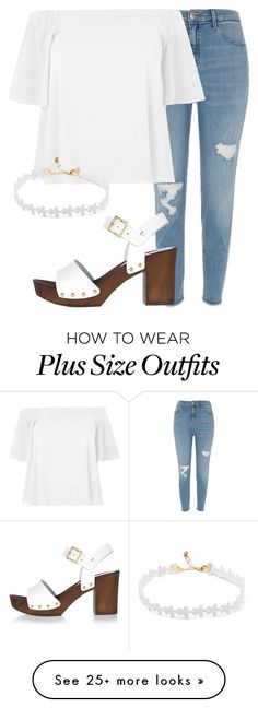 """perrie plus size insp"" by bekahtee on Polyvore featuring River Island"