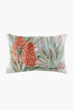 This tapestry scatter cushion with a classic aloe design will refresh the look of your living space with a rustic feel. Scatter cushions are a great, cost Home Decor Shops, Scatter Cushions, Rustic Feel, Aloe, Decor Styles, Living Spaces, Tapestry, Studio, Cover