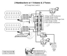 guitar wiring diagram 2 humbuckers 3 way toggle switch 1 volume 2 2 humbucker wiring diagram humbucker wire color codes pickup switch wiring cross reference