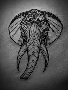 #tattoo #elephant